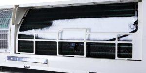 برفک زدن پنل داخلی اسپیلت