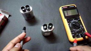 طریقه آزمایش خازن ماکروفر