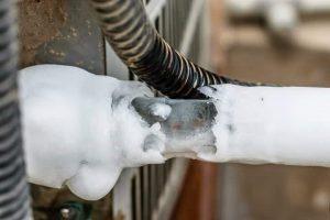 یخ زدن لوله برگشت