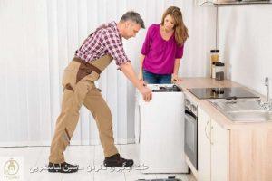 چرا ماشین لباسشویی آبگیری نمی کند ؟