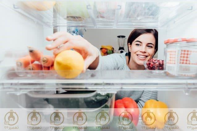 بررسی قرار گیری وضعیت مواد غذایی
