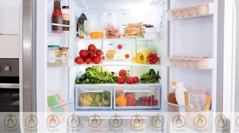 چرا یخچال بوی بد می دهد؟
