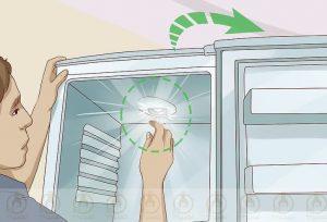 خرابی فن اواپراتور علت یکسره کار کردن یخچال است