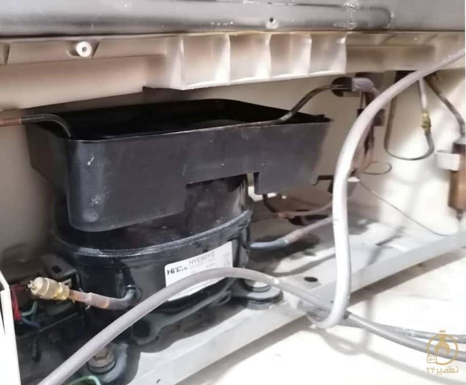 لوله تخلیه آب یخچال