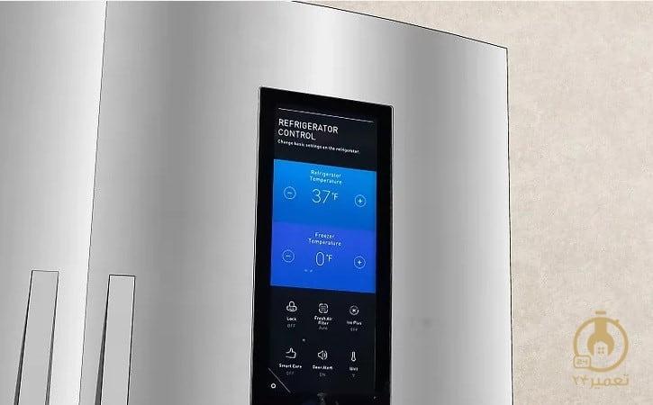 تغییر دمای ترموستات از صفحه نمایش